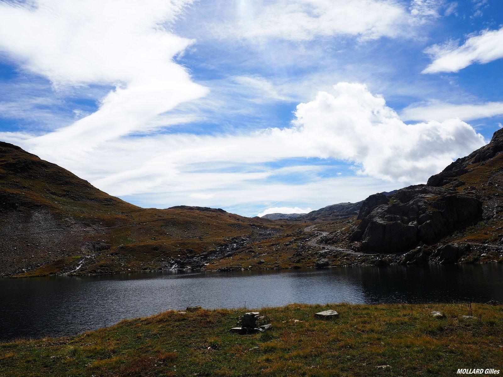 Les lacs Bramant ,glacier de St Sorlin.