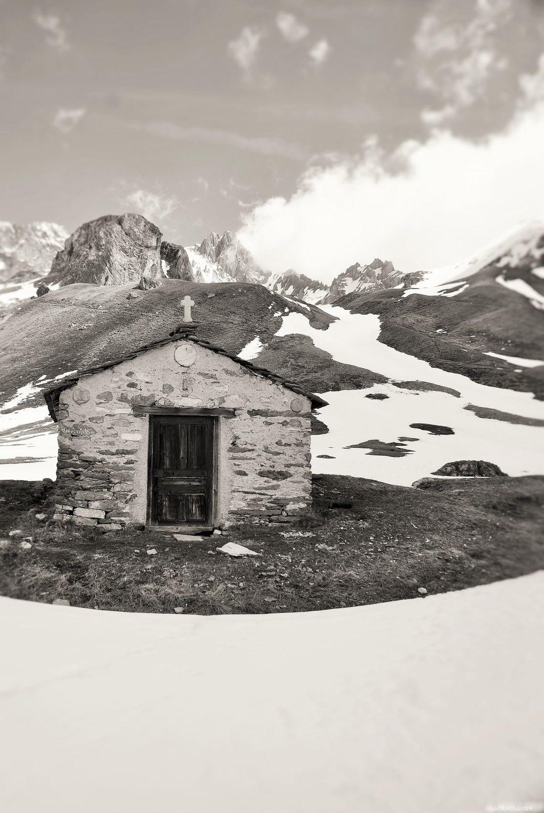 La chapelle sans nom. Vallon de la Fournache Aussois.