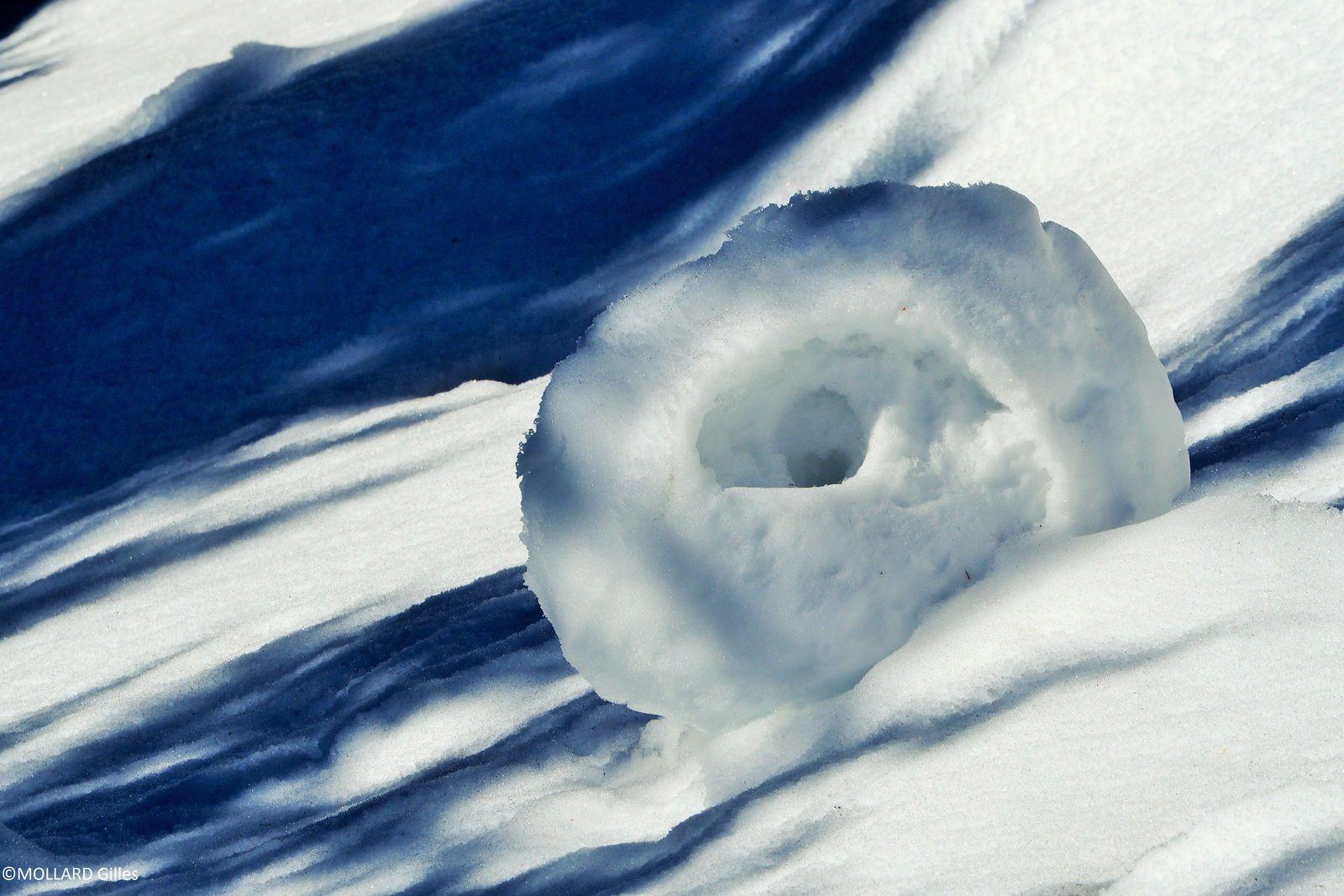 rouleau de neige