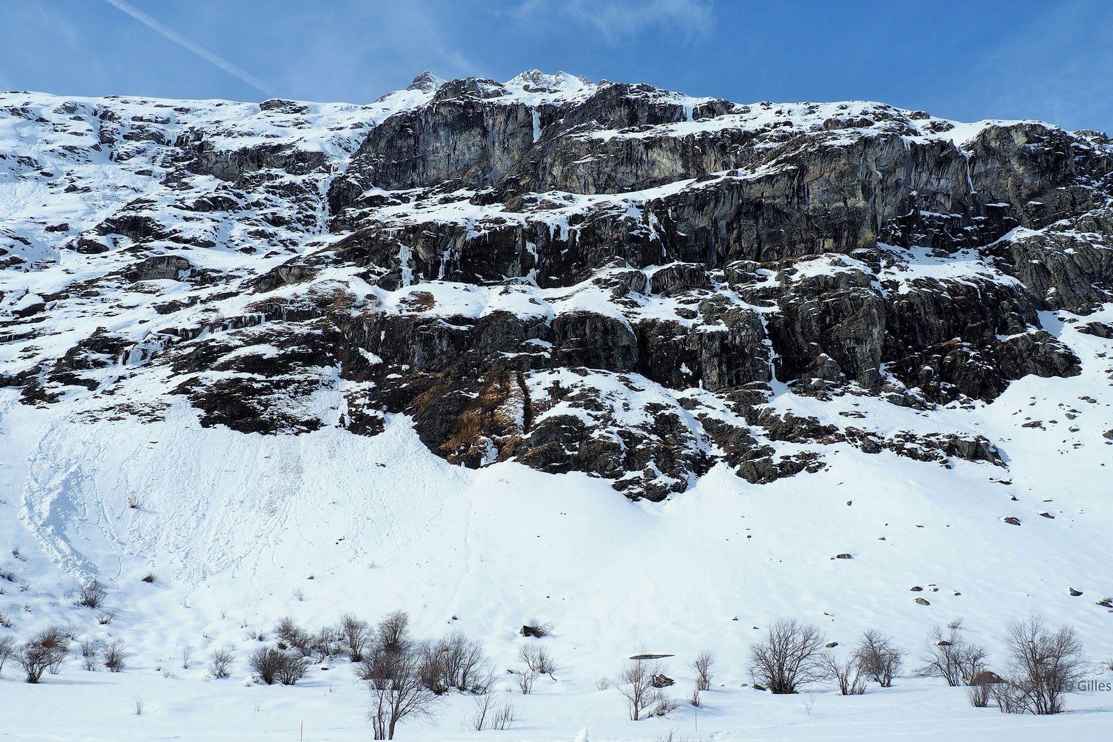 montagne à cascades (Bessans)