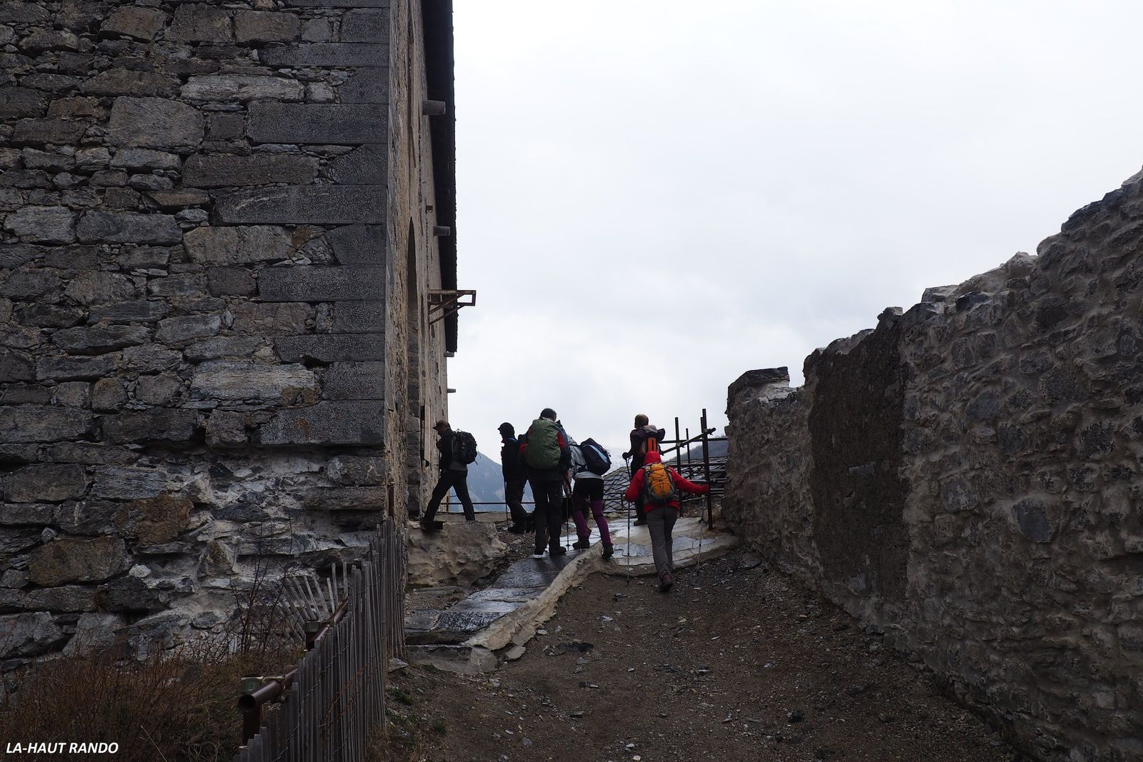 Le sentier des batisseurs,forts de l'Esseillon.