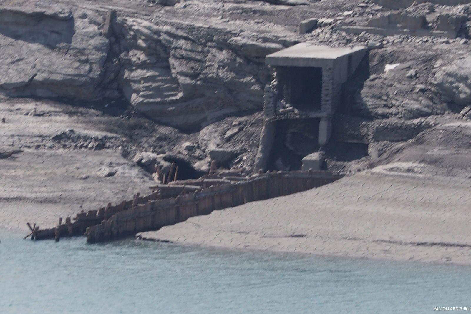 Le Mont Cenis et son barrage vide, mai 2016