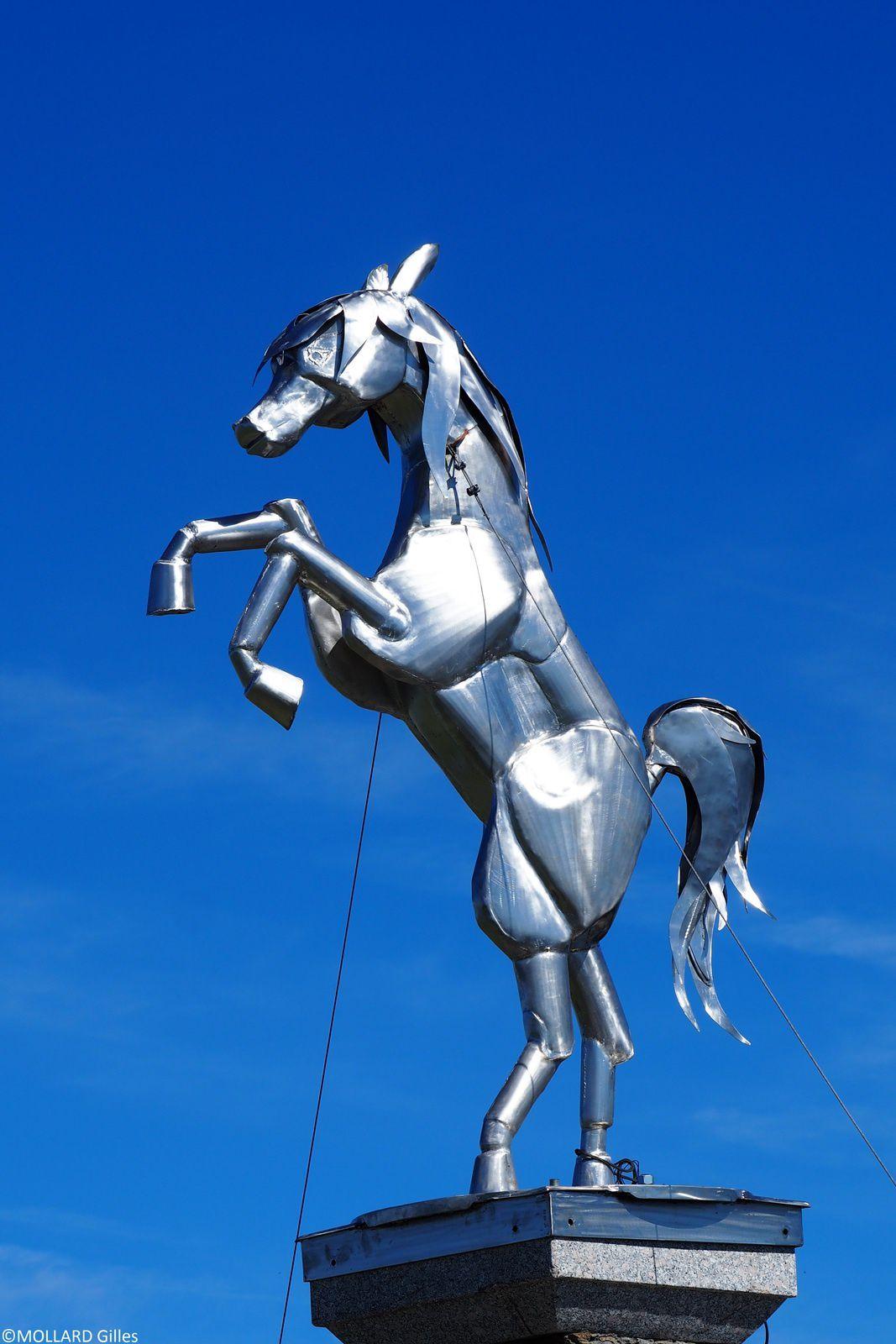 Le cheval Noir 2832 m, St Francois Longchamp