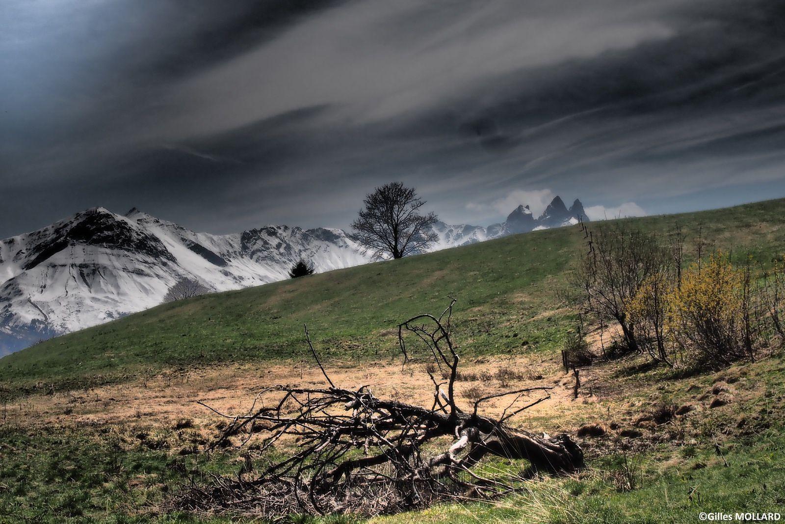 Aiguilles d'Arves, Cretes de Jarrier, Cochemin