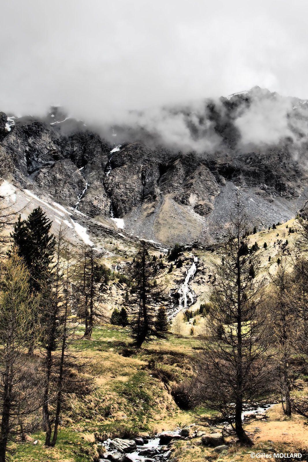 Les cascades de Polset St André (73500)