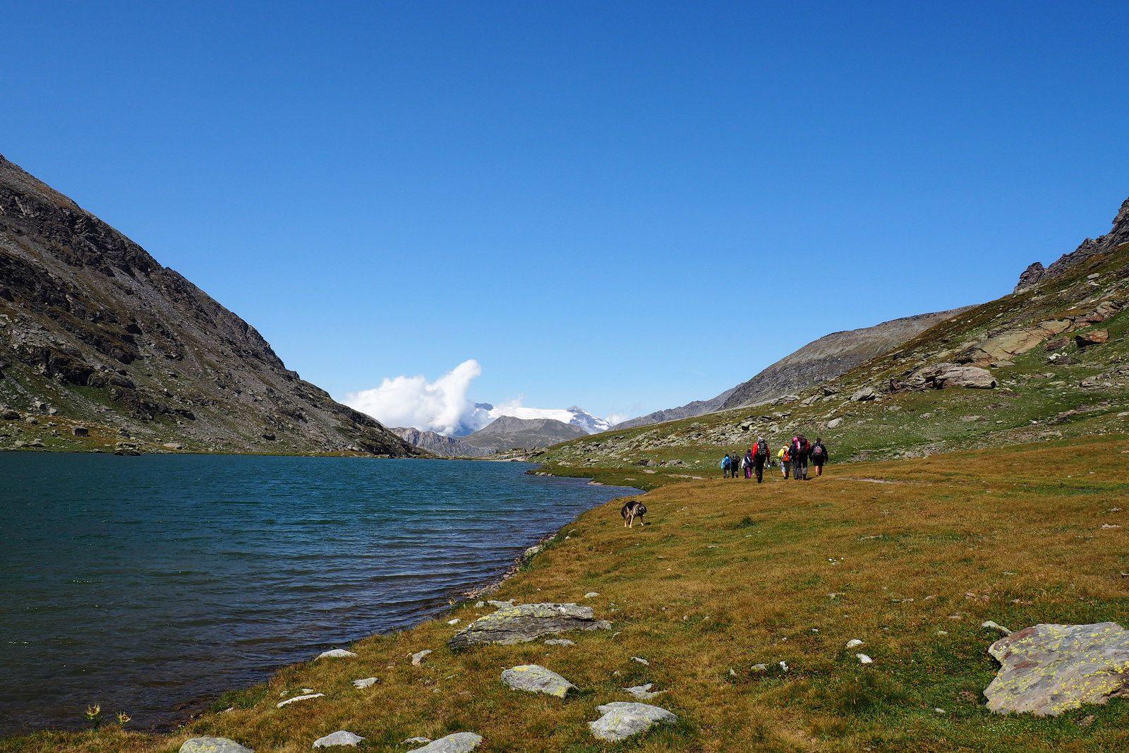 LA HAUT RANDO (rando 15) Le lac de Savines, col Clapier, col du petit Mont Cenis, Lanslebourg mont Cenis.