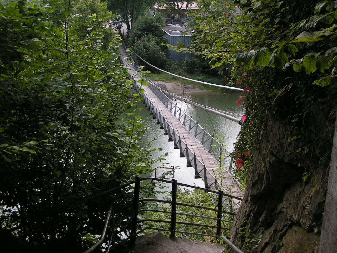 Fribourg circuit 5 basse ville ritter path swiss walks for Basse goulaine piscine