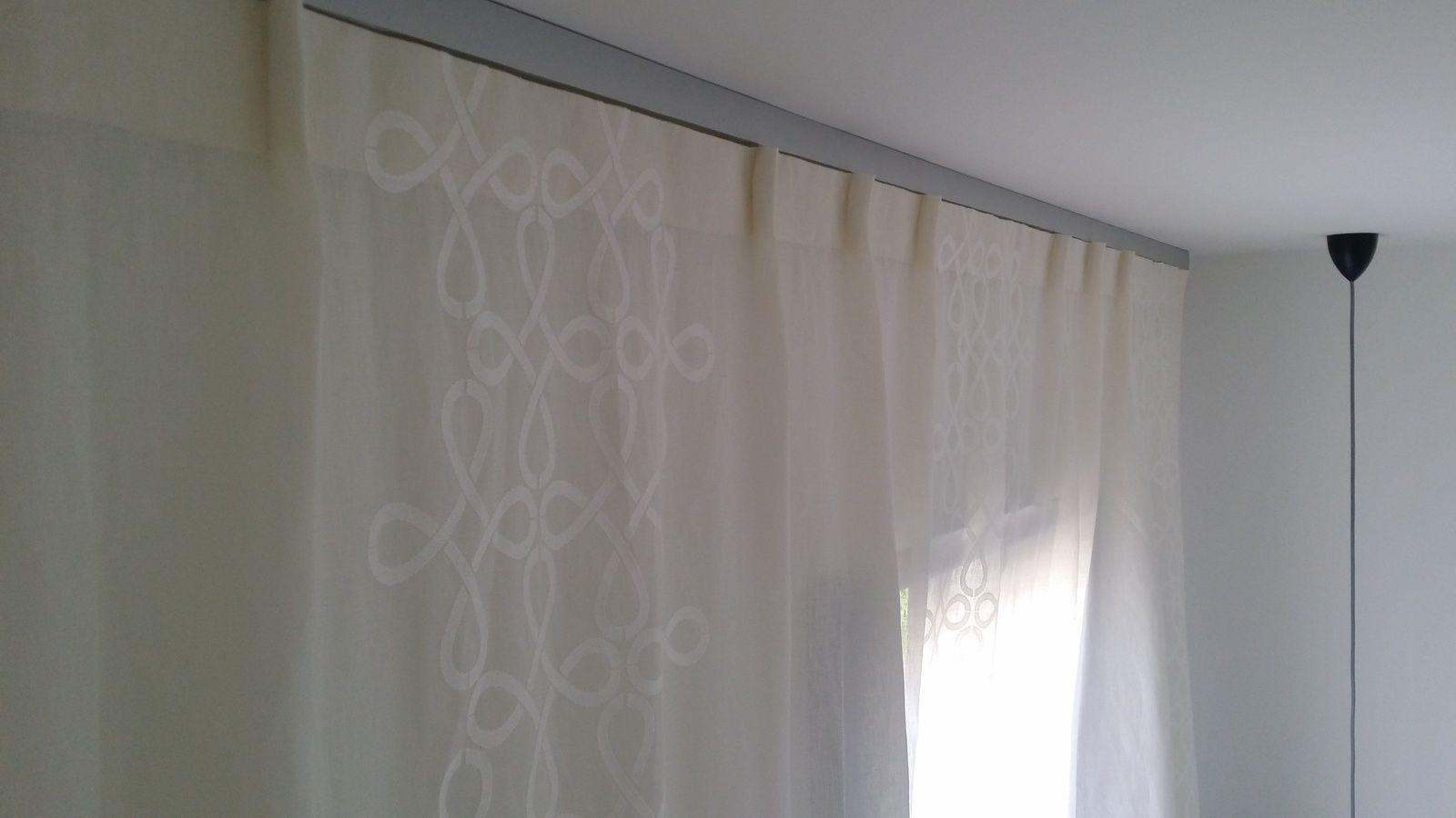 rideaux et voilages cousus main chambre et salon le. Black Bedroom Furniture Sets. Home Design Ideas