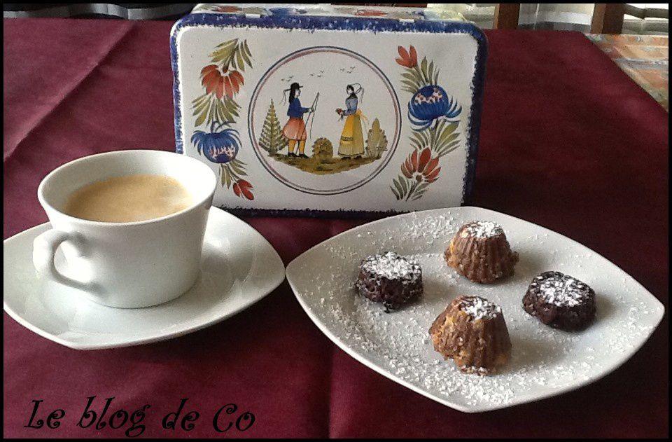 Bouchées pour le café ou thé ou chocolat ou juste à manger comme cela (sans gluten, sans lactose)