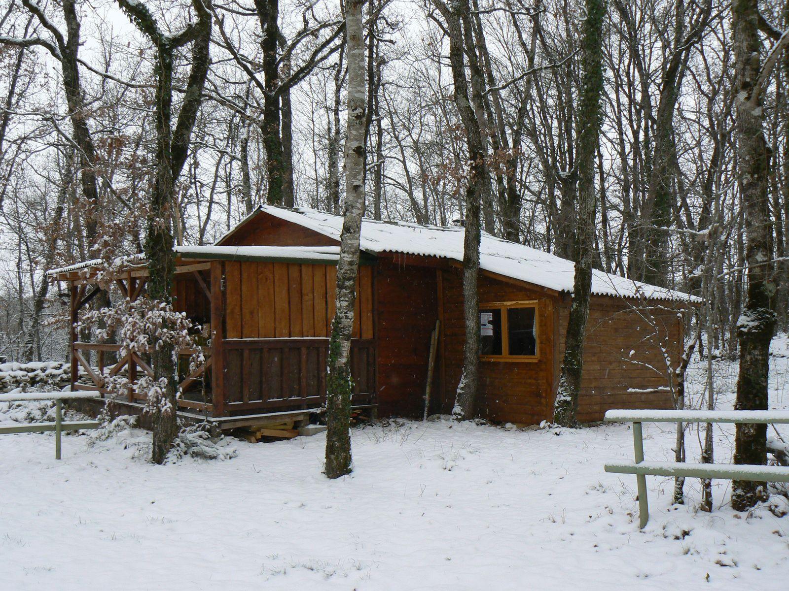 Ma cabane en hiver