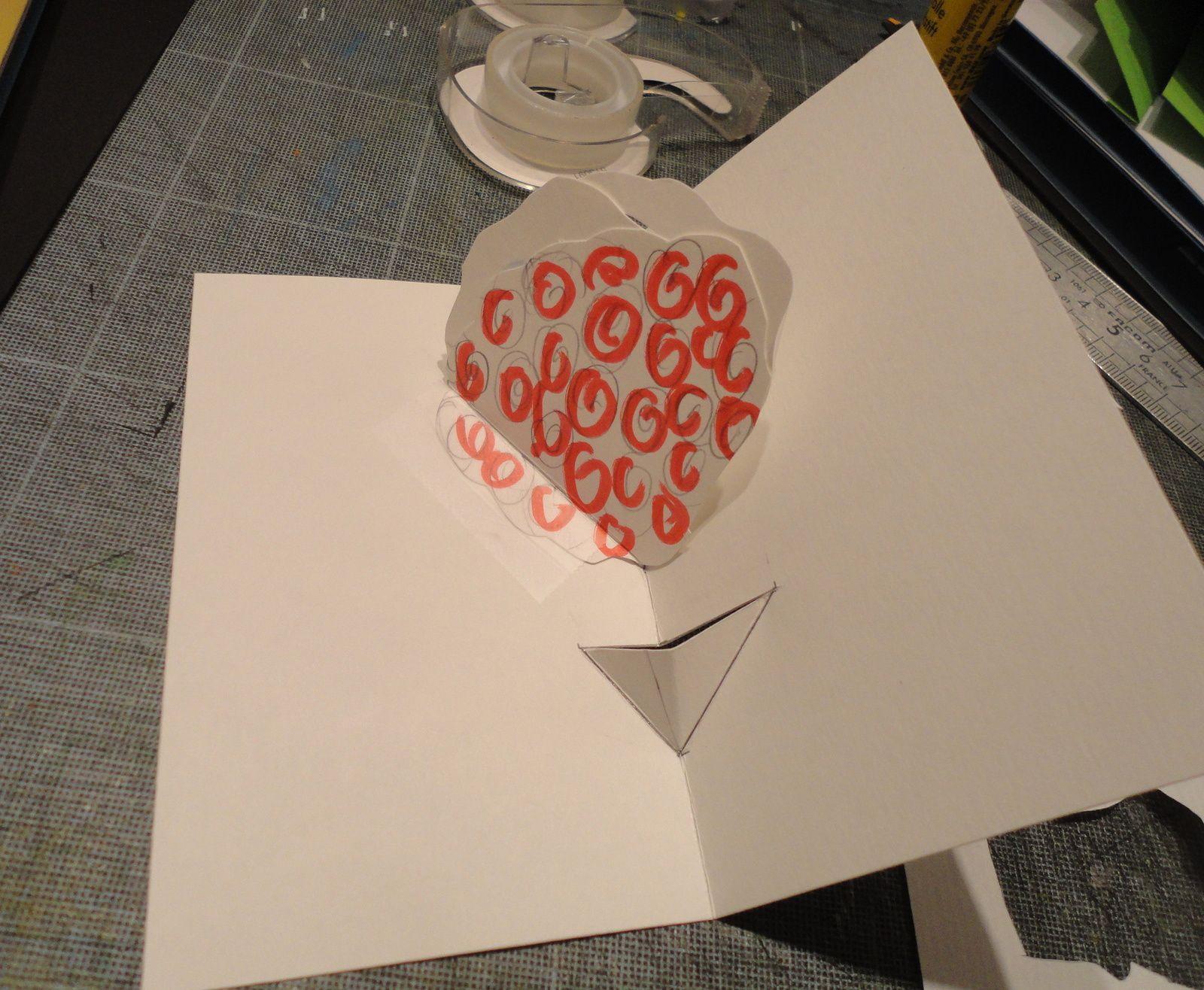 Pop up St valentin