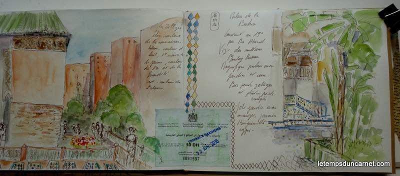 Carnet de voyage au Maroc 1