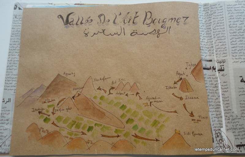 Carnet de voyage Maroc 2