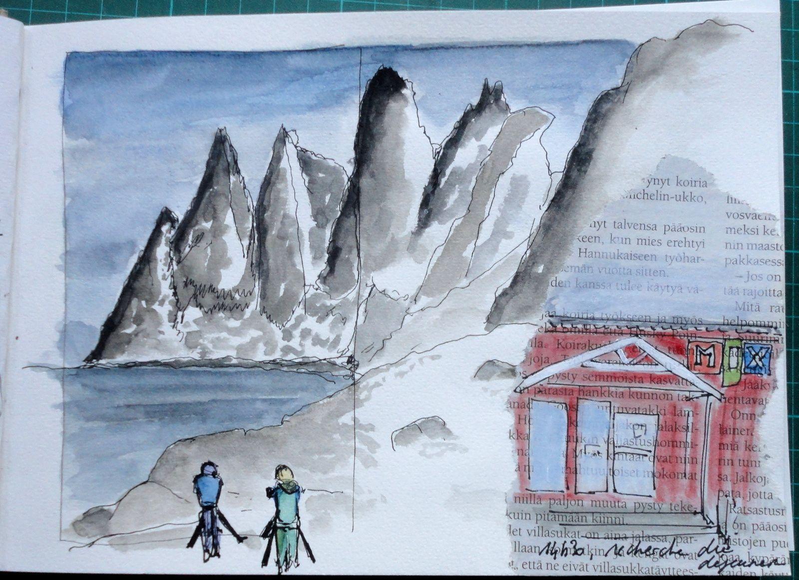 Carnet de voyage Norvège Mars 2017 / 2 em étape