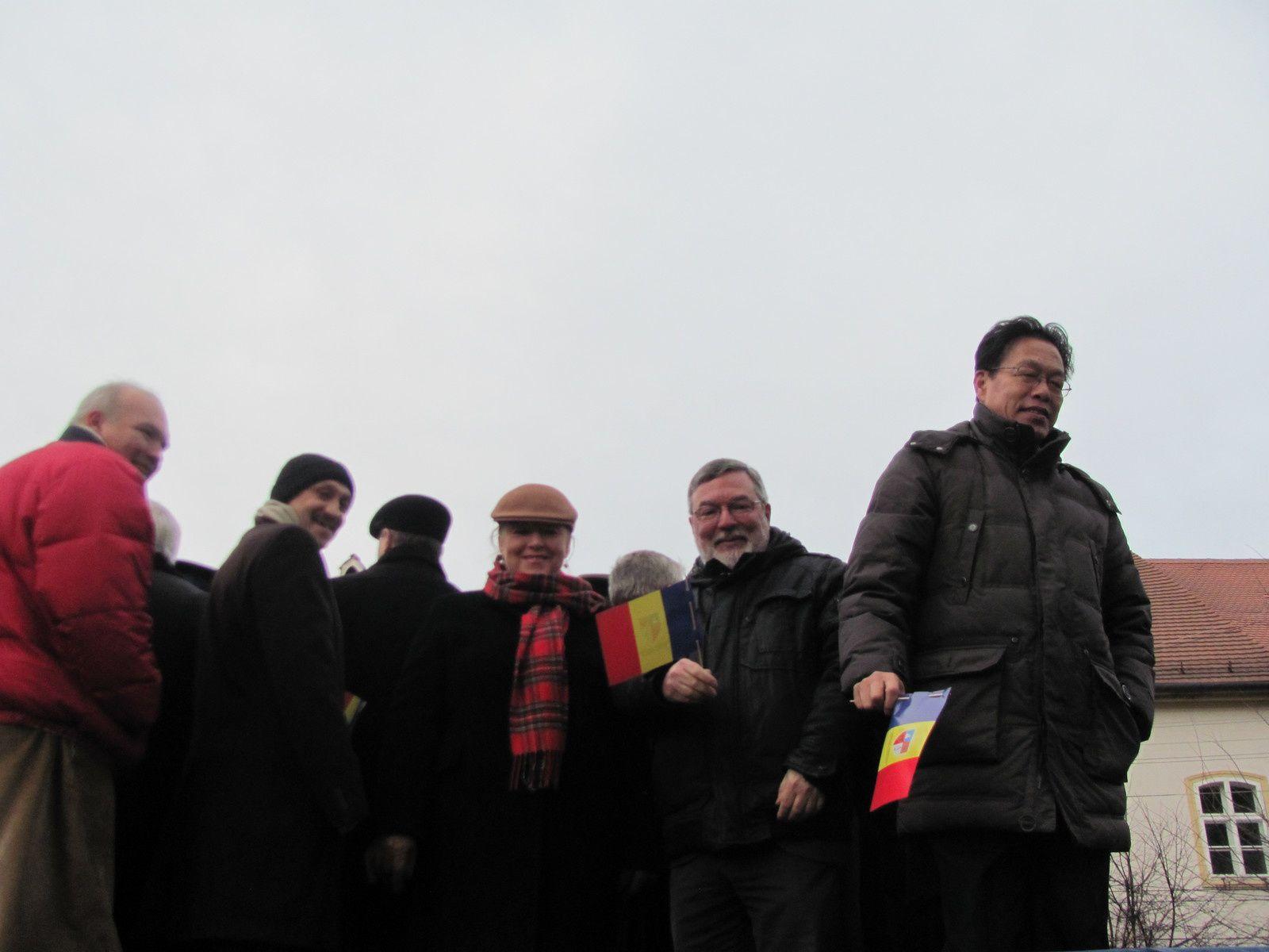 """Festival International de Théâtre et de Littérature """"Liviu REBREANU"""" de Bistrita (Transylvanie - Roumanie) du 26 novembre au 1er décembre 2014"""