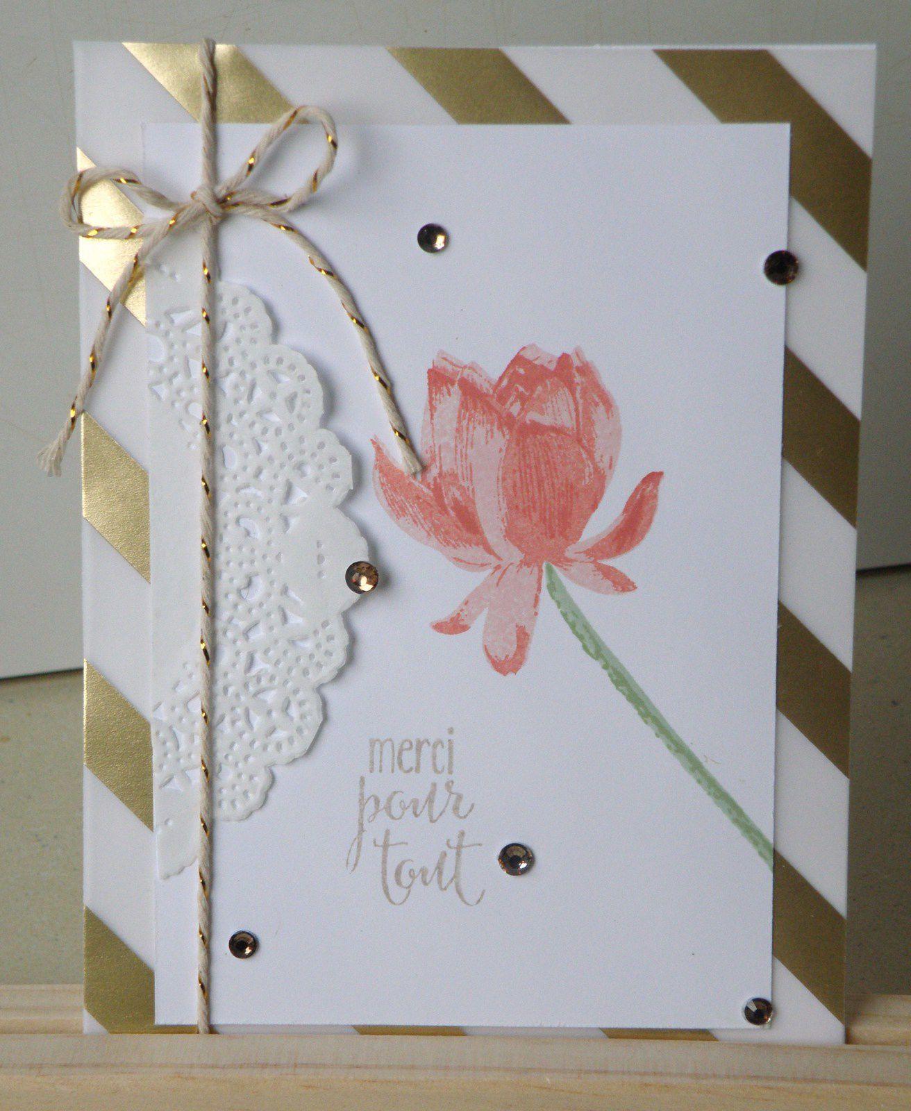 Teintes utilisées : Corail Calypso et Fleur de Cerisier