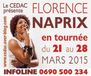 FLORENCE NAPRIX PART EN LIVE EN GUADELOUPE