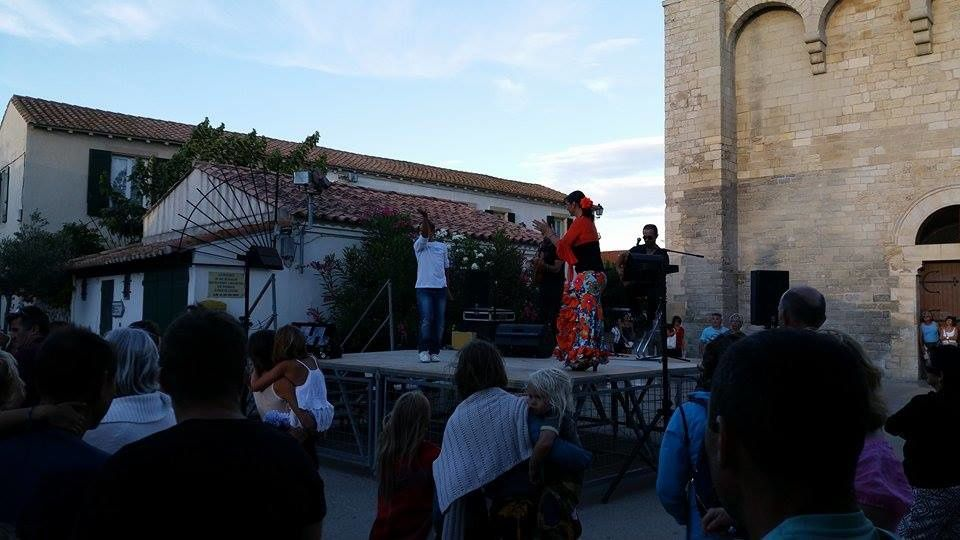 spectacle de chants et danses flamenco