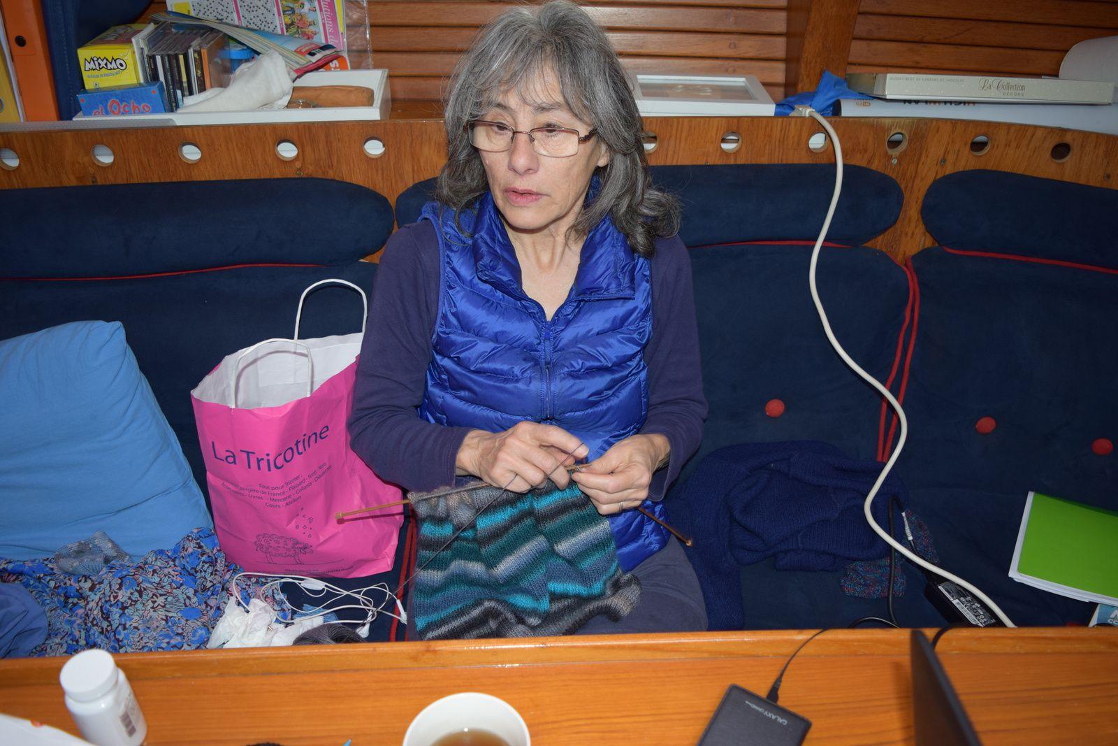 Jeannine au tricot !