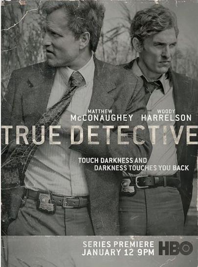 Marty Hart (Woody Harrelson) et Rust Cohle (Matthew McConaughey)