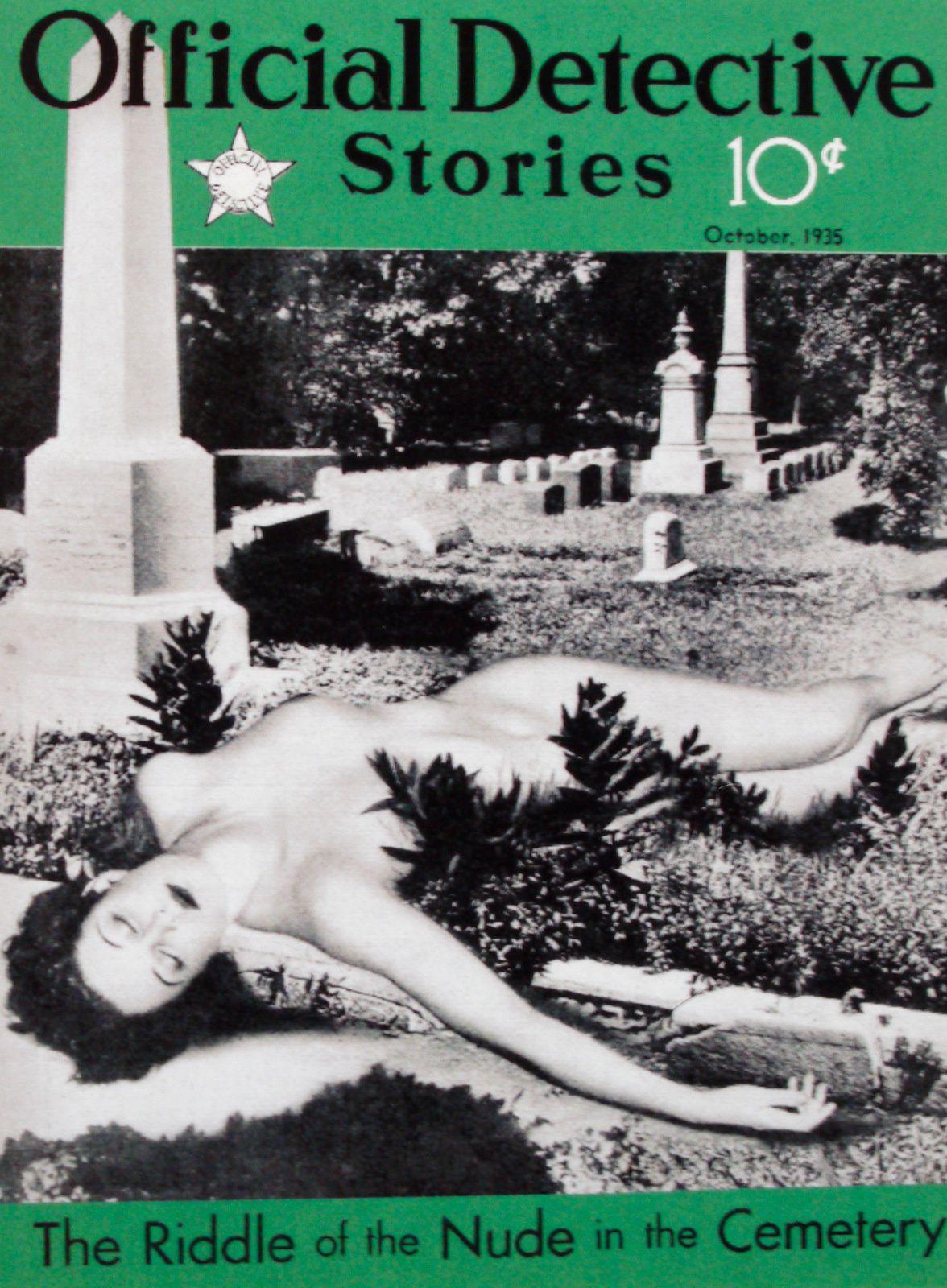 Aout 1937. L'âge d'or du magazine policier. Meurtre et sexe.