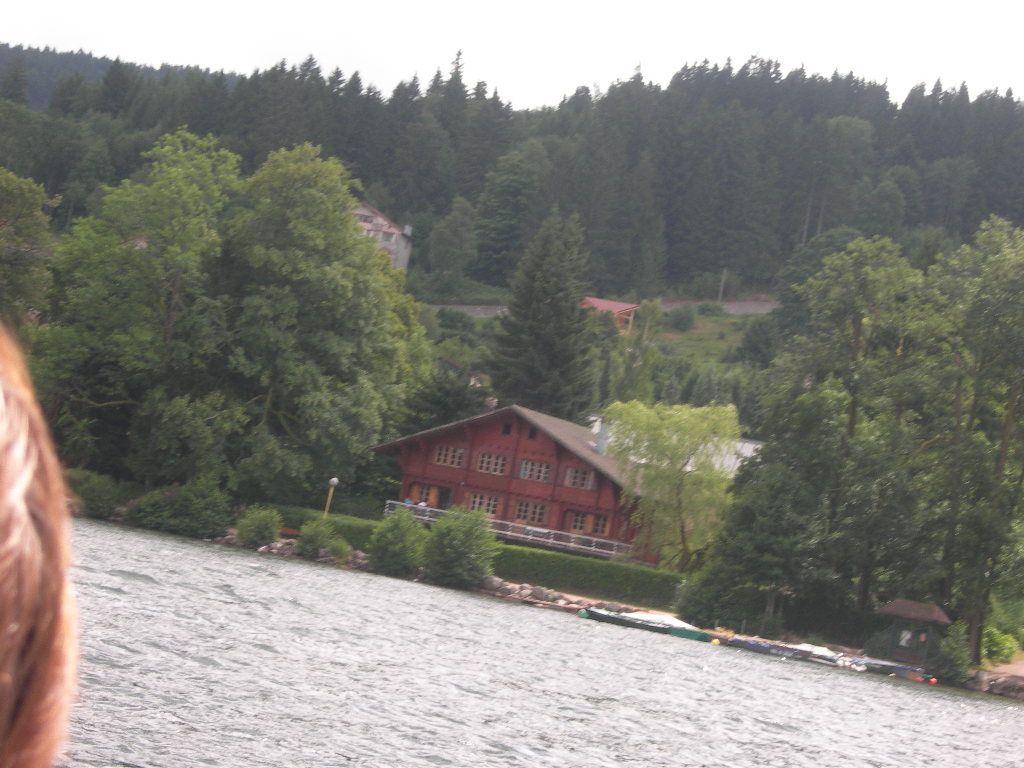 quelques photos du lac en barque pas très réussi mais bon