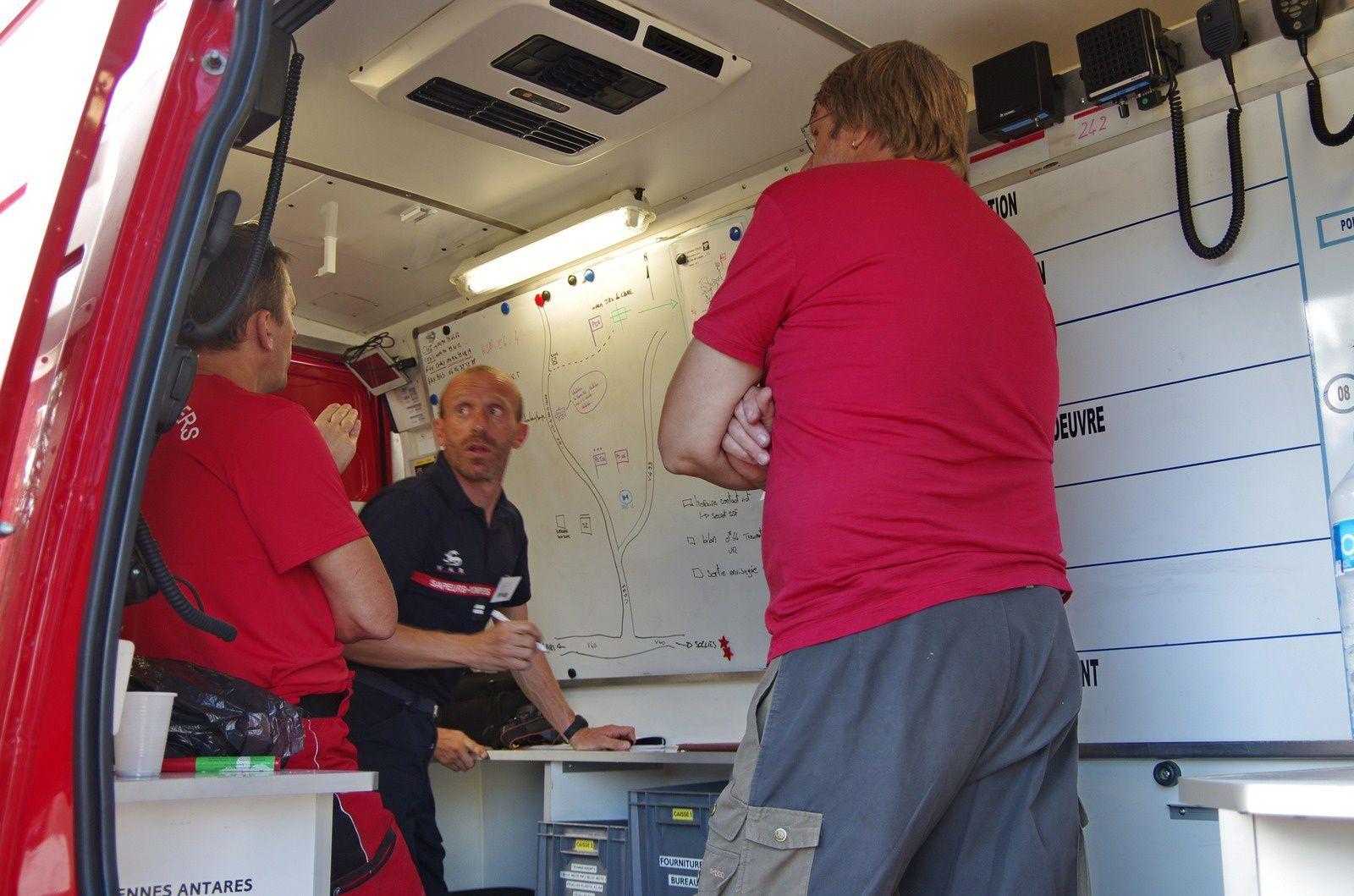 Briefing avec le COS et le CT ISS