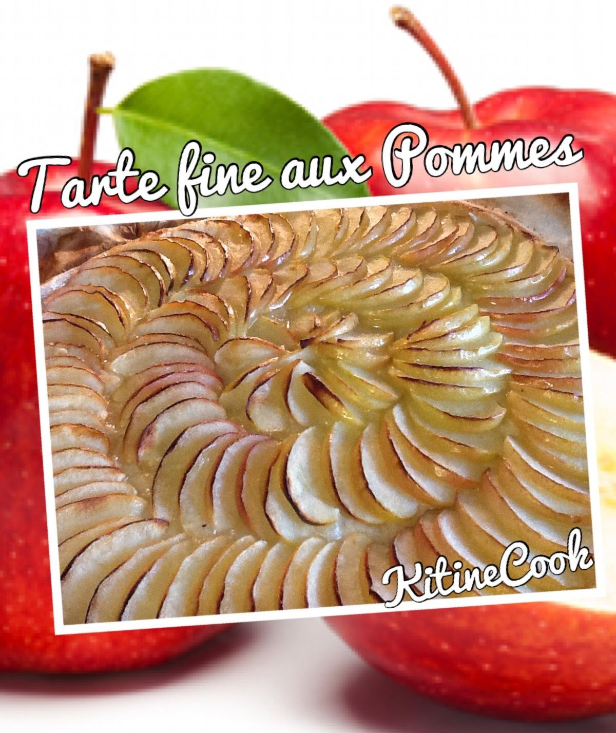 tarte fine aux pommes kitinecook. Black Bedroom Furniture Sets. Home Design Ideas