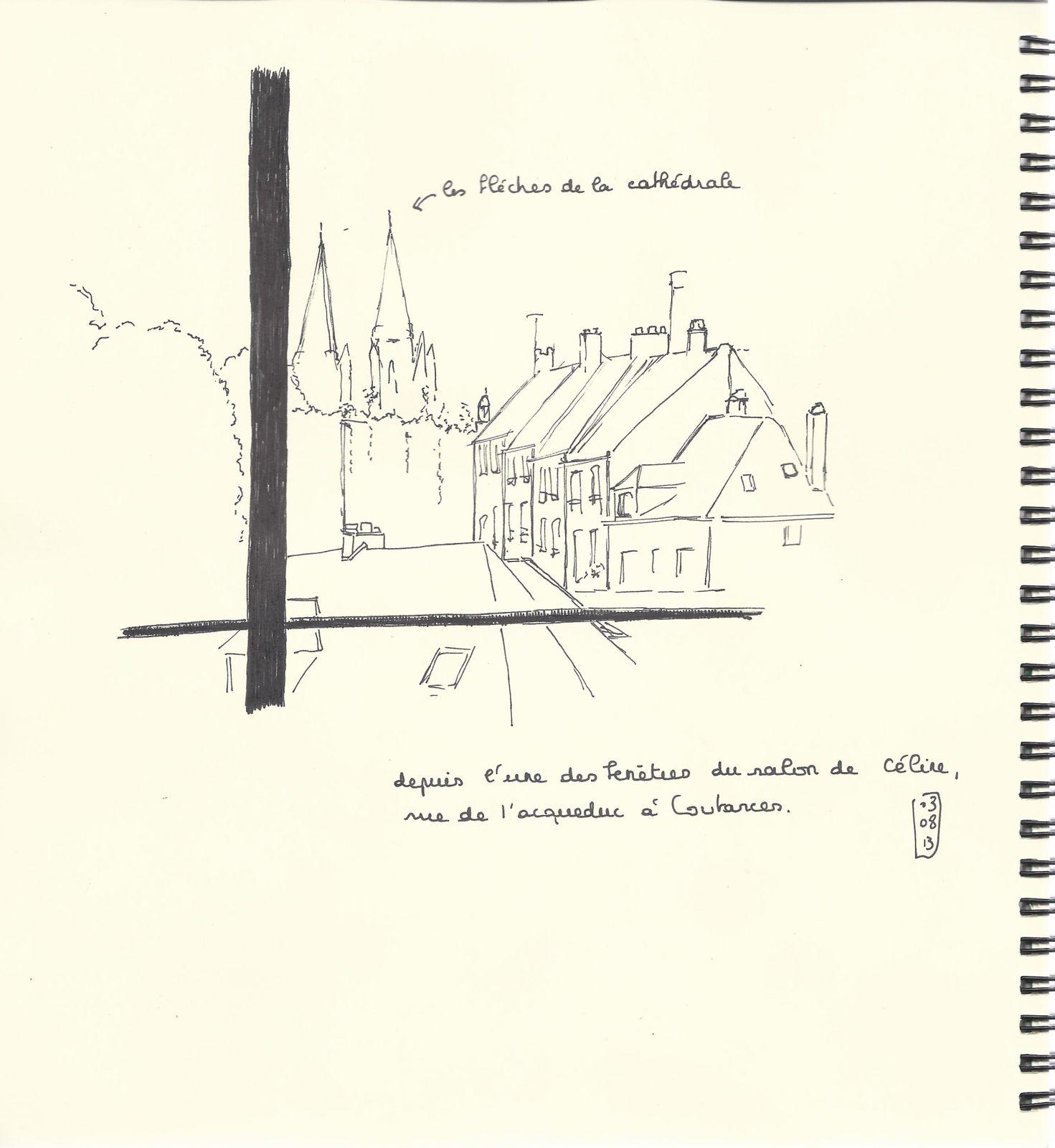 Croquis et aquarelles en Cotentin # 1