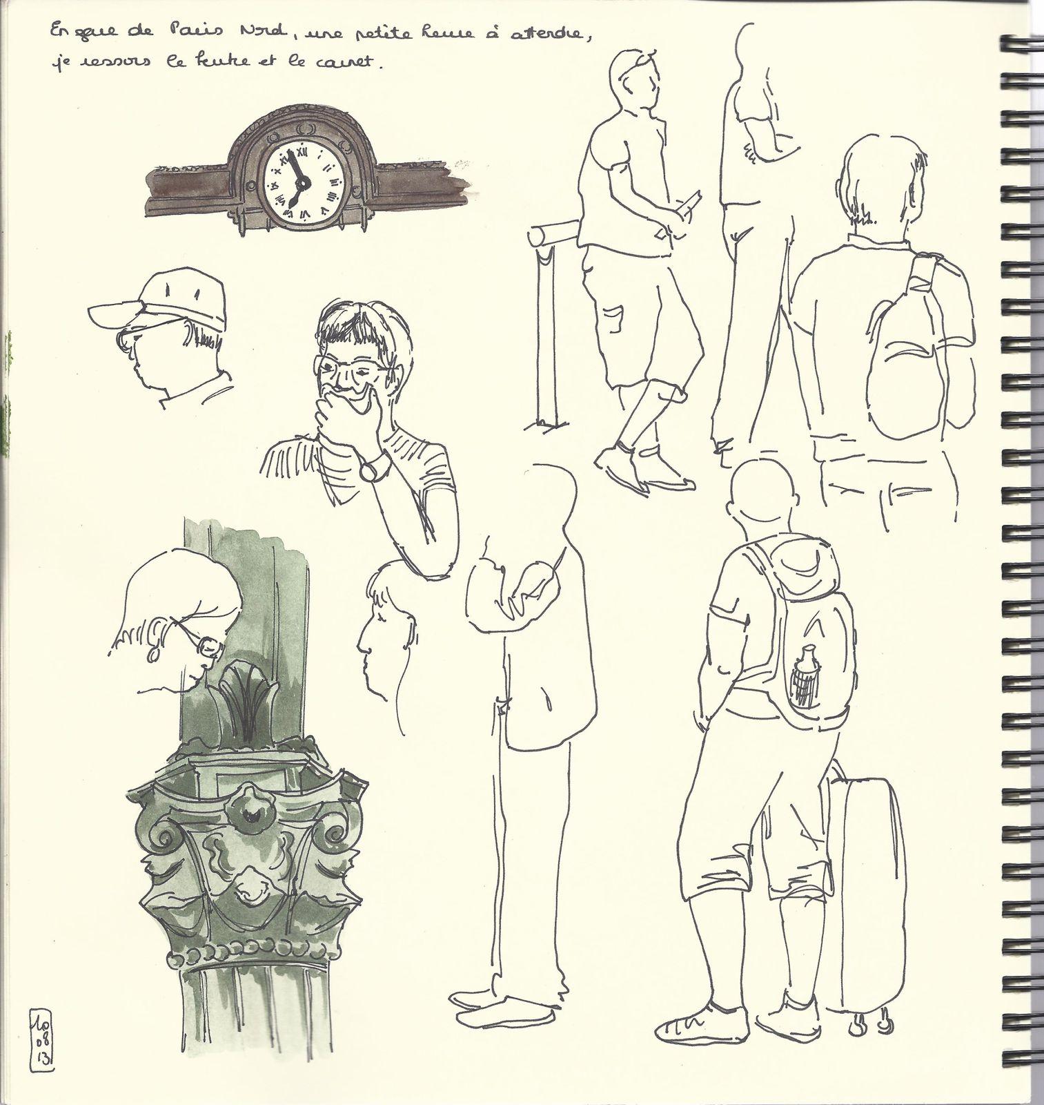 Croquis et aquarelles en Cotentin # 4
