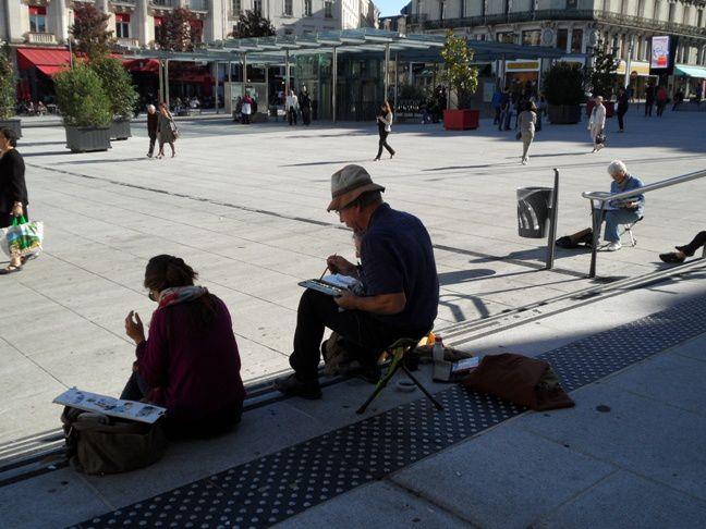 Retour sur le 45e Sketchcrawl à Angers