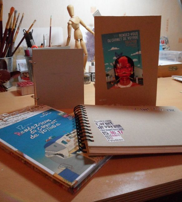 Des carnets... pour le Rendez-vous du Carnet de voyage