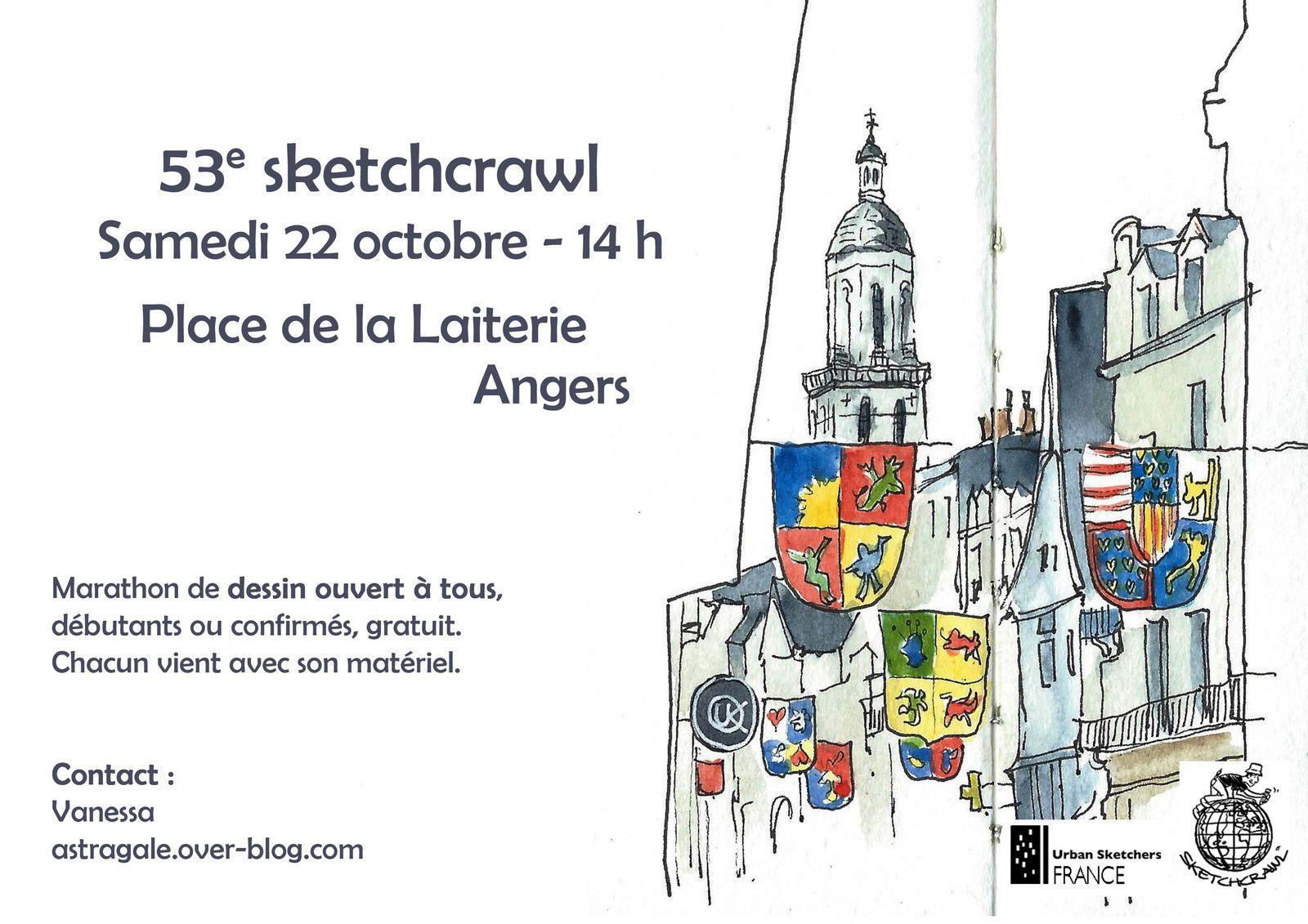 53e sketchcrawl - Place de la Laiterie