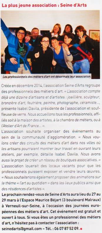association Seine d'arts Triel