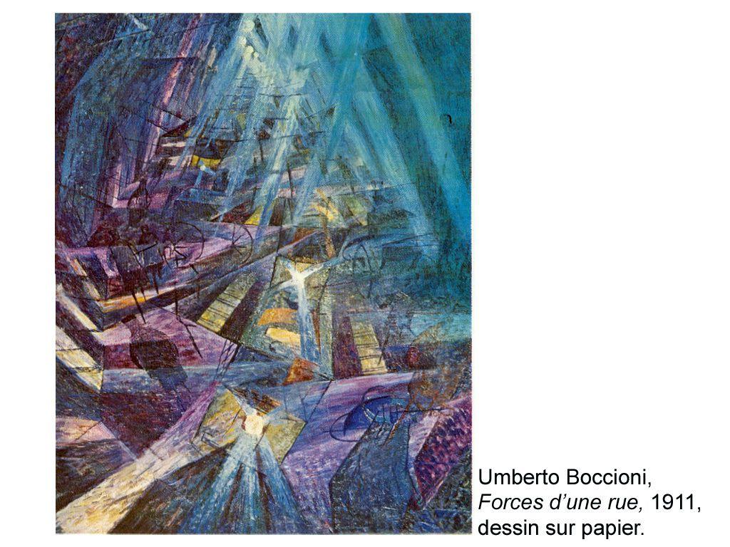 Illustrations 2 : Oeuvres d'artistes sur la représentation du mouvement par la peinture ou la sculpture.