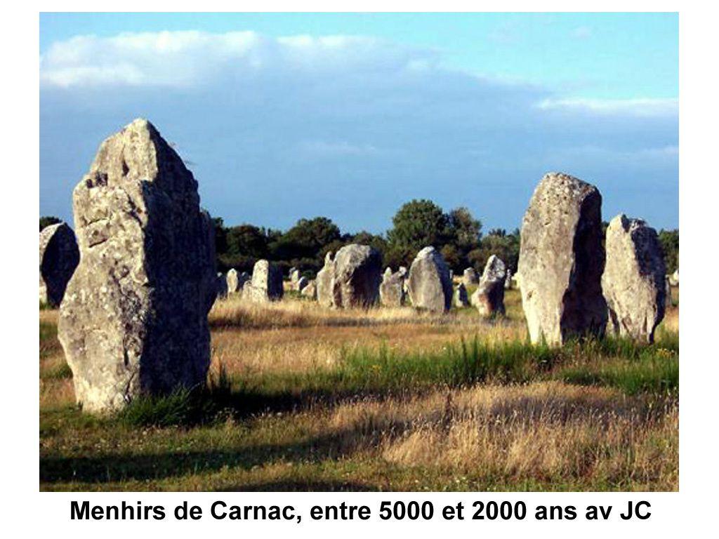 Le site sacré de Stonehenge en Grande-Bretagne.