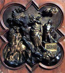Lorenzo Ghiberti, décors du baptistère de Florence.