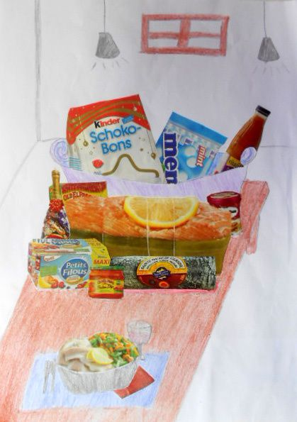 Nature morte contemporaine 4°