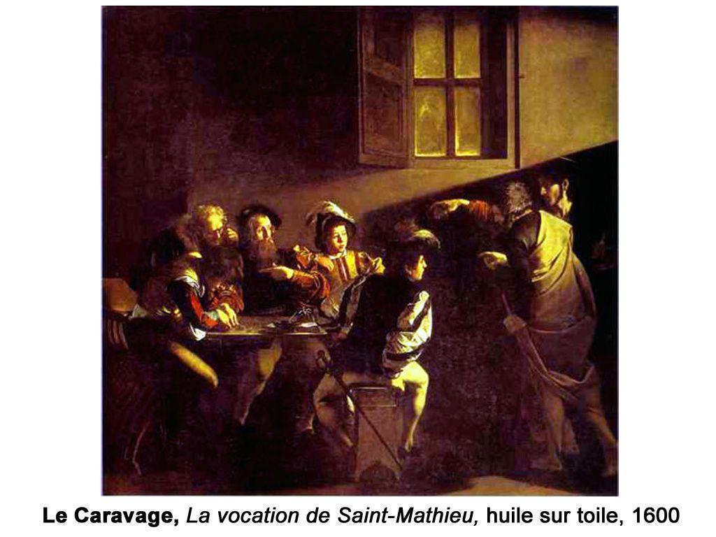 Le clair-obscur chez Le Caravage (Renaissance italienne tardive) et Georges de La Tour (Renaissance française)