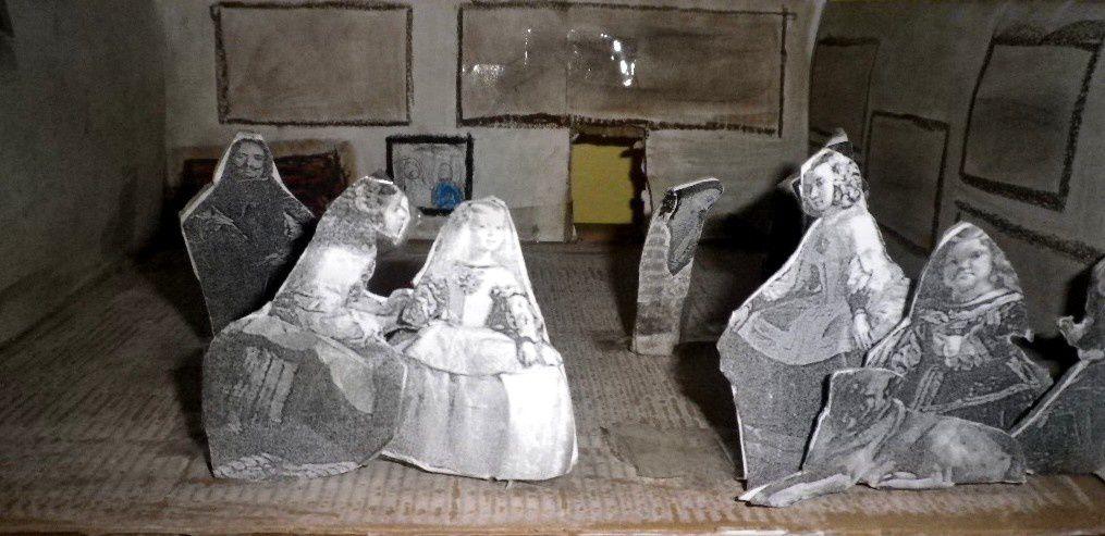 Les Ménines en 3D - 4°