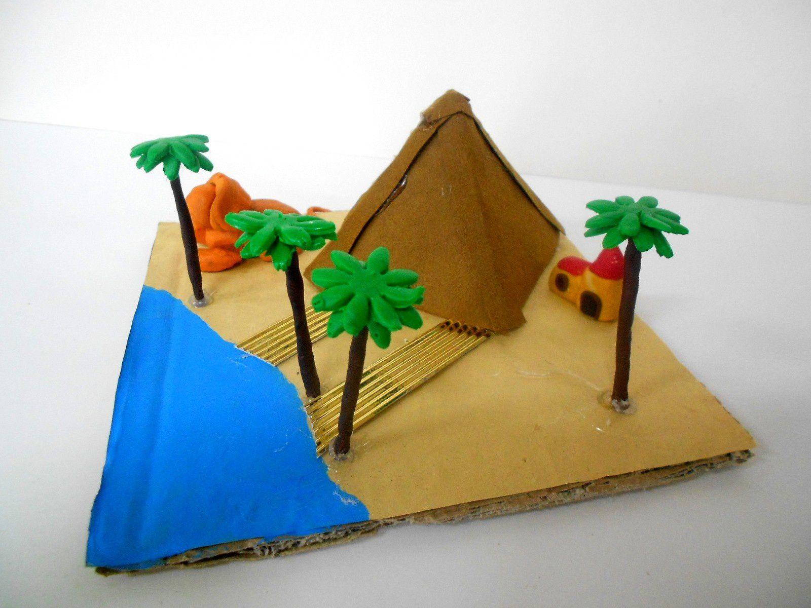 Maquette de pyramide - 6°