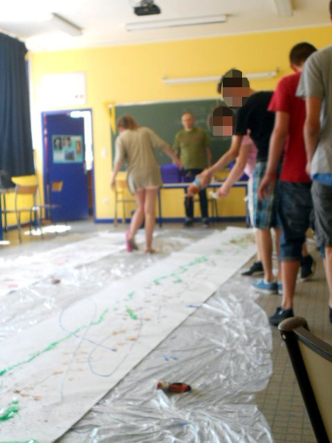 Action Painting - 3°2