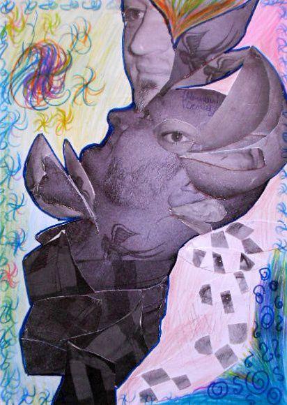 Portrait cubiste - 3° 2014