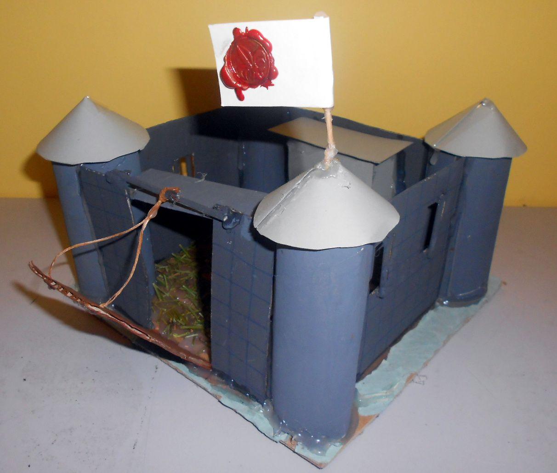 Maquette de chateau-fort/cathédrale 5° - 2014