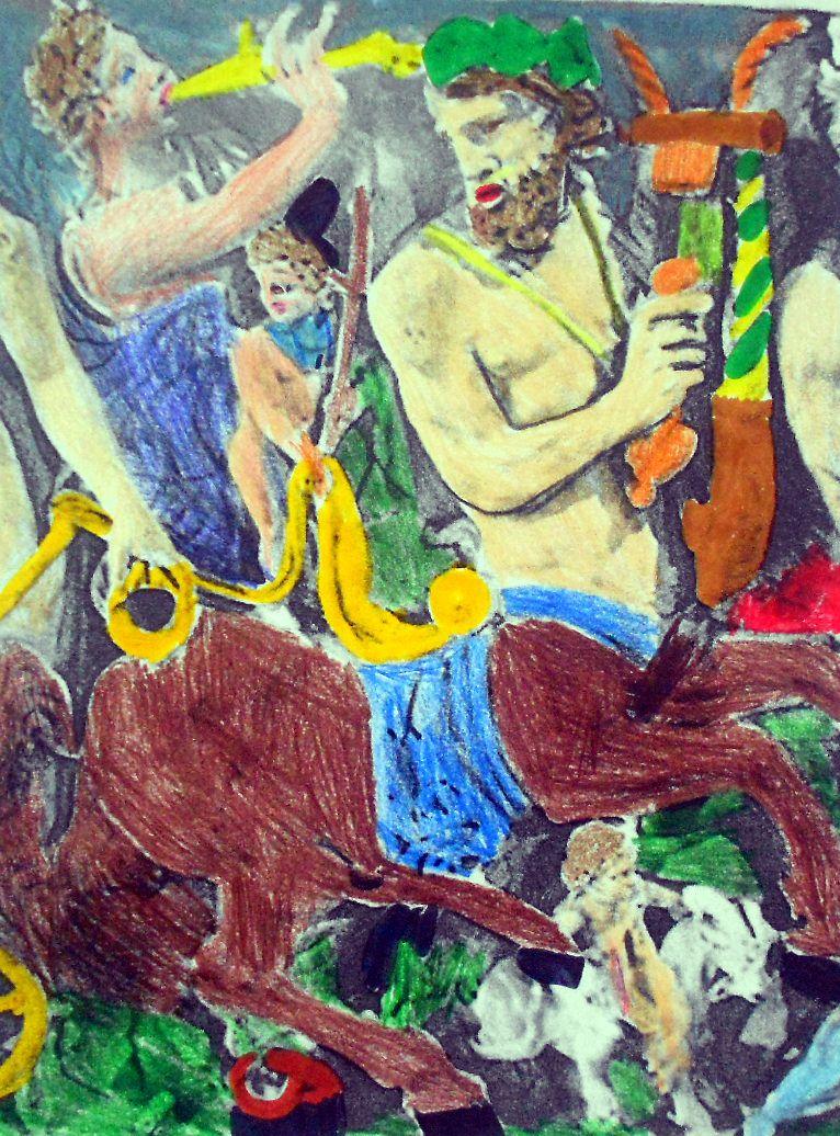 Travaux réalisés avec les outils traditionnels (feutres, crayons...)