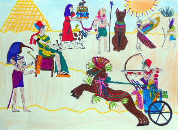La perspective en Egypte 6° - 2015