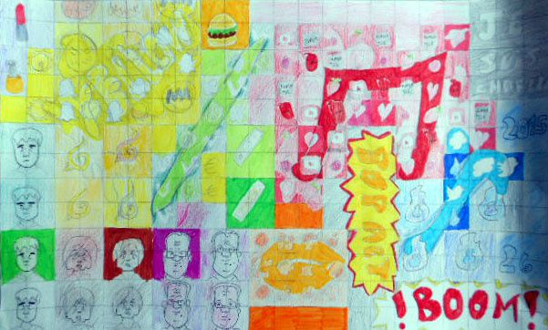 Pop'Art contemporain 3° - 2015