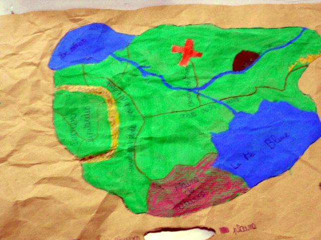 La carte de l'île au trésor 5° - 2015