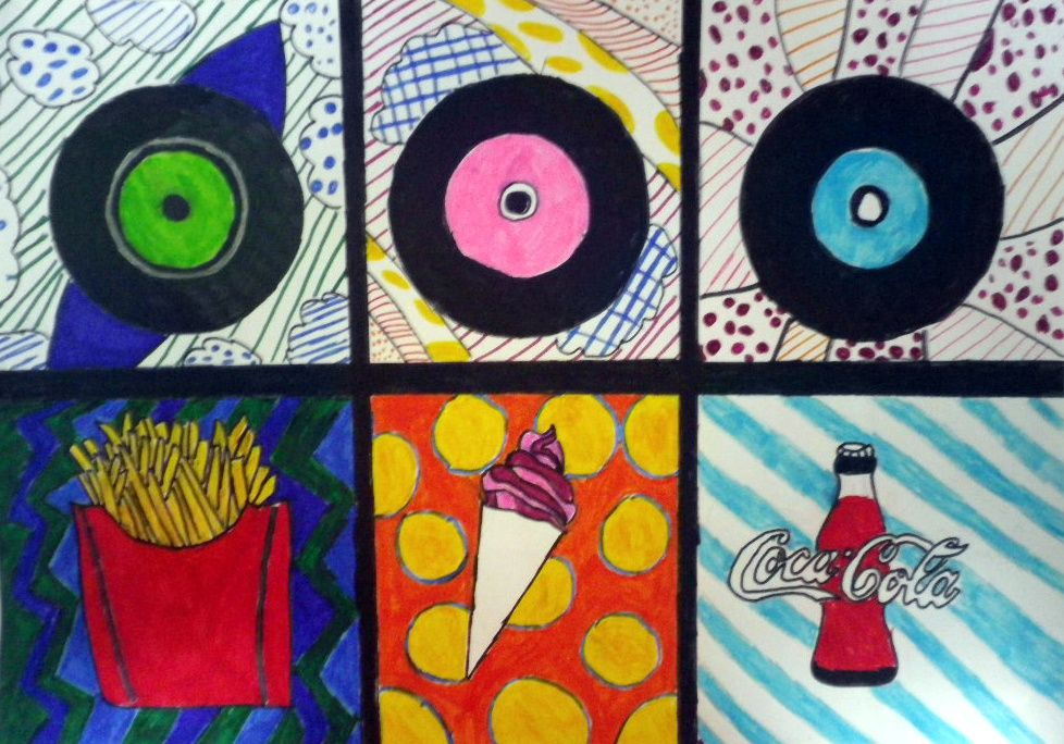 Pop'art contemporain 3° - 2016