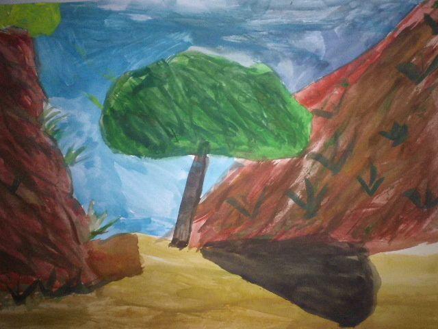 Paysage impressionniste - 4° 2017